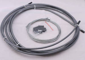 JAGWIRE HOUSING CABLE BRAKE SHIFTER COMPLETE KIT GRAY SUIT SHIMANO SRAM AVID $19.54