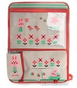 DECOLE Rabbit Car Tray Storage Bag Seat Back Multi-Pocket Hanger Pocket Holder