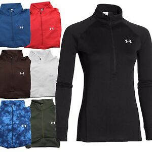 Under Armour Tech Fitted Women's Coldgear Infrared 12 Zip Jacket Pullover S-2XL