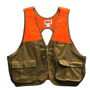Gamehide Lightweight Upland Filed Bird Vest (TanOrange) PSV