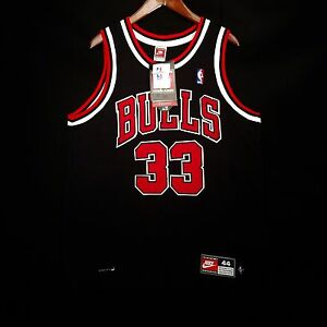 100% Authentic Scottie Pippen Nike Bulls Dri Fit NBA Jersey Size 44 L - jordan