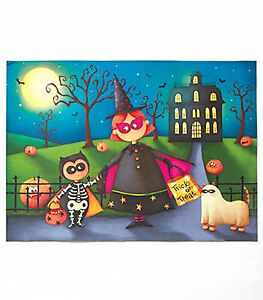 New Halloween Trick or Treat Dishwasher Magnet 23