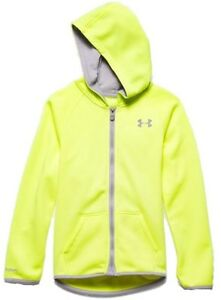 Under Armour Jacket Storm Full Zip up Girls Youth Teen MagZip Magnetic Warm Ski
