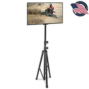 Portable Tripod TV Stand Television LCD Flat Panel Monitor Mount (TVs up to 60