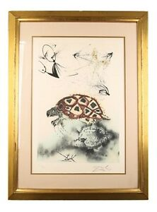 quot;The Mock Turtle#x27;s Storyquot; by Salvador Dali Signed Lithograph on Arches Paper LE $3600.00