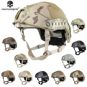 EMERSON Tacitcal FAST Helmet Military Hunting Airsoft Headwear MultiCam BK E5658