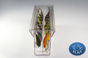 Small double RM lure box minnow 1644080 tackle box special for spinning