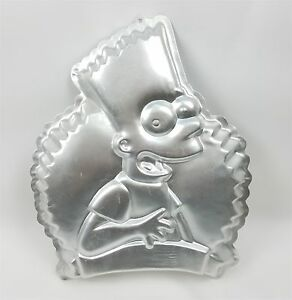Bart Simpson Wilton Cake Pan 2105-9002 Discontinued The Simpsons TV Show