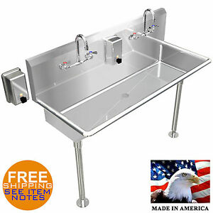 HAND SINK INDUSTRIAL 2 PERSON 40