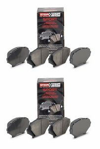 STOPTECH HIGH PERFORMANCE SPORT FRONT REAR BRAKE PADS FOR NISSAN GT R R35 GTR $330.74