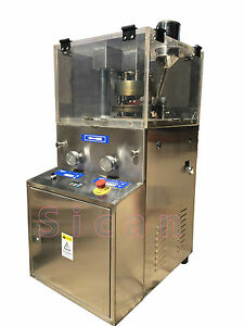 110V Automatic  ZP-9B  Rotary Tablet Press Hard  Compressed Candy Making Machine