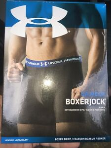 Under Armour gray Mesh Boxerjock size Small Mens 6 INCH. BRAND NEW BARGAIN!!