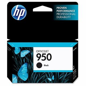 HP 950 Black Ink Cartridge Yields 1100 Pages For Officejet Pro 8100 8600 8610