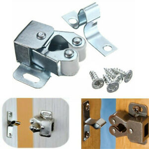 10 x Home Door Cabinet Cupboard Furniture Magnetic Catch Stopper Roller Latch
