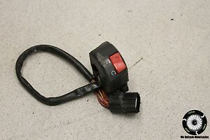 2004 DUCATI M 600 MONSTER RIGHT HANDLE BAR CLIP ON SWITCHES ENGINE STOP M600 04 $34.99