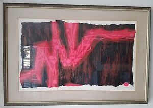 Ross Wetzel original serigraph signed numbered in title Romance Candle $425.00