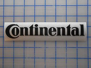 Continental Decal Sticker 7.5