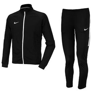 Nike 2016 Men's Asian-Fit Dry Academy TrackSuit Training Suit Black 844328-010