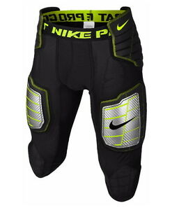 Nike Mens Pro Combat Hyperstrong Compression Hard-Plate 34 Football PantsM