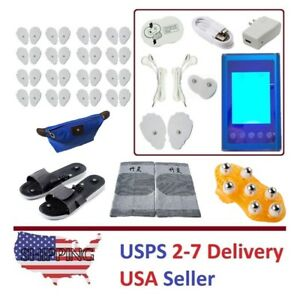 TENS Unit 9A+9B Modes Digital Electronic Pulse Massager Therapy Dual Channels XX