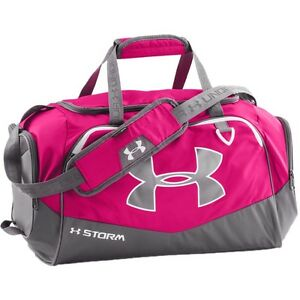 Under Armour Backpacks - Undeniable II Large Duffle - T.PinkGraphWhite