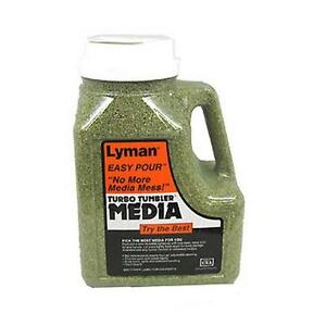 Lyman Turbo Case Cleaning Media 6 Pounds Easy Pour Container 7631394