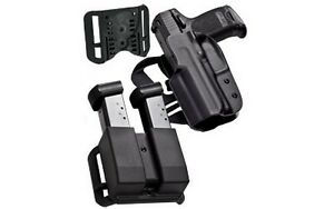 Blade-Tech HOLX0086IDPAPKO0082BLK IDPA Competition Pack For Glock 192332 RH