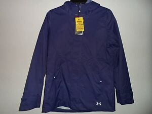 New Under Armour Outerwear Women's CGR Wayside 3-In-1 Hoodie Purple