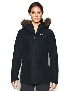 New Under Armour Outerwear Women's Coldgear Infrared Kymera Jacket Black