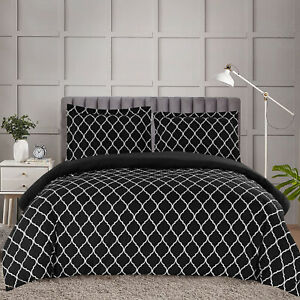 Duvet Cover Set Egyptian Quality 1800 Series 3 Piece Bedding Set King Queen Size