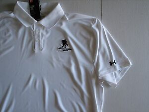 NWT UNDER ARMOUR Heat Gear UPF 50 Loose Polo Shirt 3XL Wounded Warrior Project