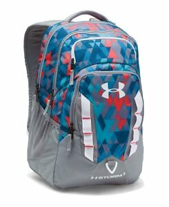 Under Armour UA Storm Recruit Backpack PacificPink Chroma Gym School Bag
