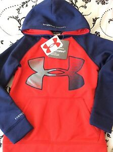Boys Under Armour Storm1 Logo Hoodie Size YXS 6-8