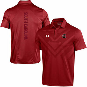 Under Armour South Carolina Gamecocks Garnet Coaches Sideline Scout Polo