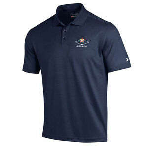 Under Armour Houston Astros Navy MLB Performance Polo