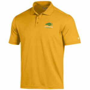 Under Armour NDSU Bison Gold Solid Performance Polo - College