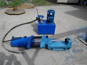 100T Electric Portable Hydraulic Track Pin Press