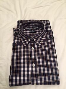 Brooks Brothers Big Boys Non-iron Sport Shirt Size M (10-12) **free shipping**