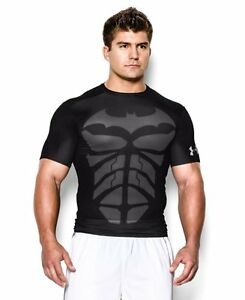 Under Armour 1244399-004 Mens Alter Ego Short Sleeve Compression ShirtBlack