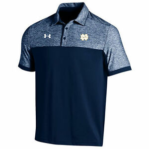 Under Armour Notre Dame Fighting Irish Navy 2016 Coaches Podium Performance Polo