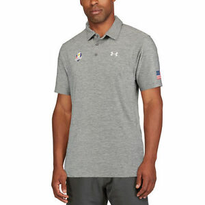 Under Armour Heathered Gray 2016 Ryder Cup Playoff Performance Polo