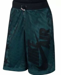Nike sz M Mens Air Pivot V3 Mesh Training Shorts NEW 778060 013 Black Blue