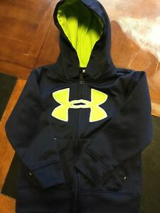 Boys Under Armour Hoodie Size 4T