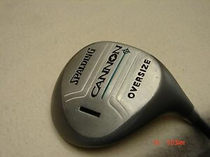 *Spalding Cannon Oversize Right Handed Women#x27;s #1 Driver