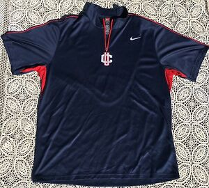New Dry-Fit University Of Connecticut Football Polo Shirt Nike Issued Size XL