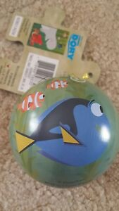 Disney Dory & Hank Tin Ball Ornament Finding Dory Movie Puzzle by Cardinal NEW