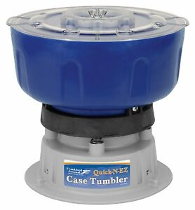 Frankford Arsenal Quick-n-Ez Case Cord Mounted Tumbler Clean Brass 9mm 350 223