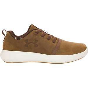 NEW Under Armour Boys Sneakers BPS Charged 247 Low NB AL Shoe Brown Size 2 Y