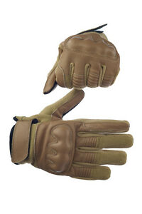 Spezial Tactical gloves Coyote with Kevlar & Nomexmaterial S M L XL
