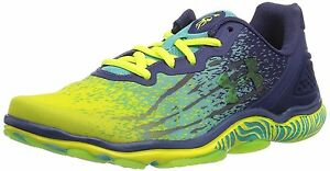 Under Armour 1252310-705 Womens UA Micro G Sting Training Shoes  YELLOW RAY